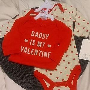 2-pack infant bodysuits